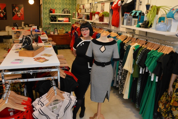 Notorious Clothing Utrecht Carol fifties mode vintage go with the vlo