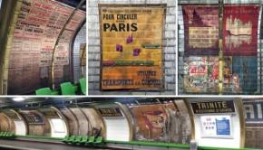 Genieten! Oude affiches ontdekt in de Parijse metro