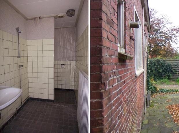 Pastoriewoning badkamer Nieuwe Pekela go with the vlo