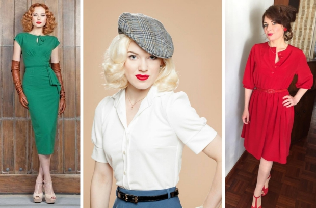 Very Cherry Carol kleding fifties diva go with the vlo