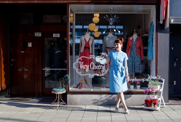 Very Cherry Rotterdam Caroline kleding fifties go with the vlo
