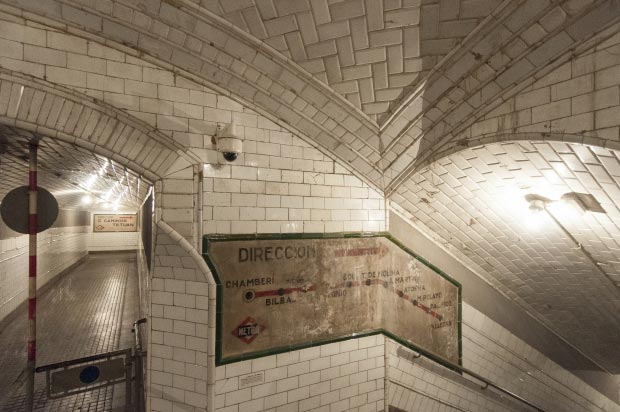 Madrid metrostation go with the vlo 3
