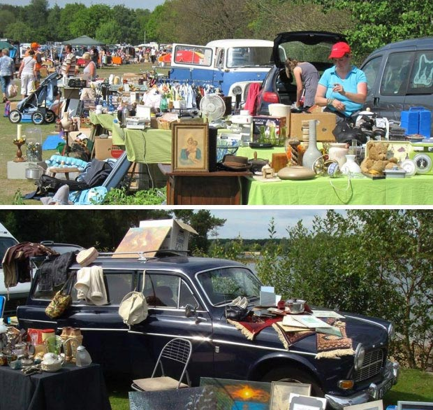 Car Boot Sale Oss go with the vlo