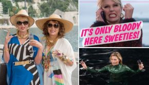 Absolutely Fabulous film go with the vlo 3