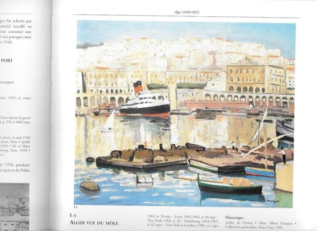 Albert Marquet Alger Vue du Mole schilderij go with the vlo