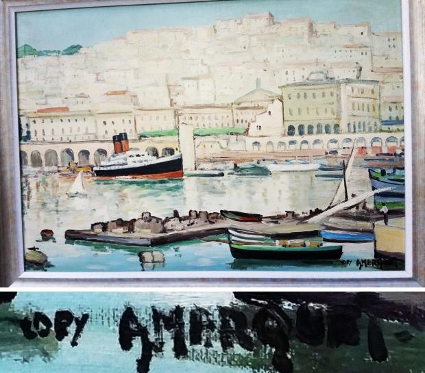 Albert Marquet schilderij vervalsing go with the vlo
