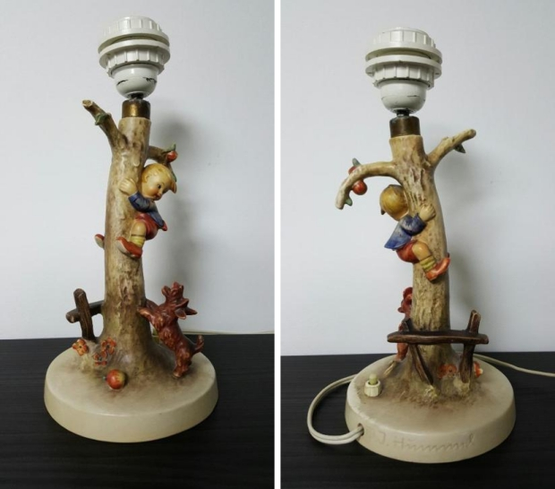 Hummel lamp kitsch go with the vlo