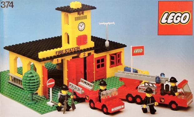 LEGO brandweerkazerne go with the vlo
