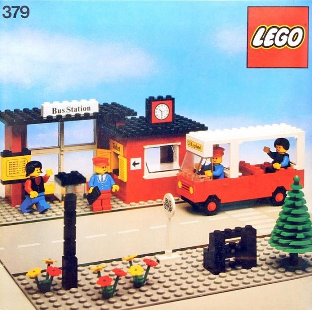 LEGO bushalte go with the vlo