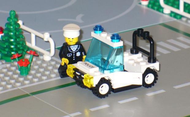 LEGO politie go with the vlo