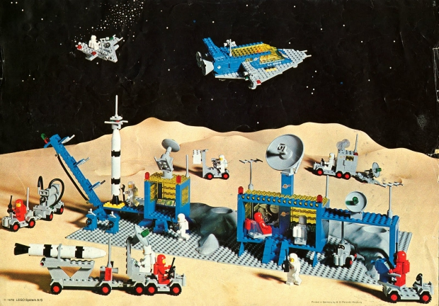 LEGO ruimte go with the vlo