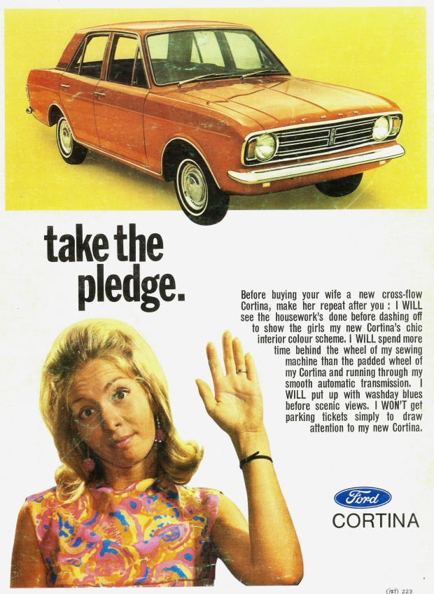 Seksistische advertenties go with the vlo auto