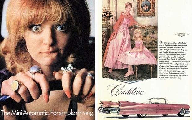 Seksistische reclames auto go with the vlo