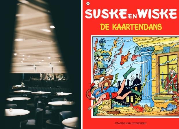 Speakeasy Foxglove De Kaartendans Suske en Wiske go with the vlo