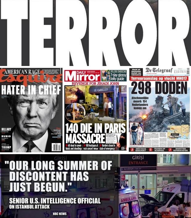 Terrorisme nieuwsberichten go with the vlo