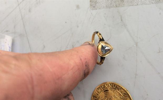 Kronan scheepswrak ring go with the vlo