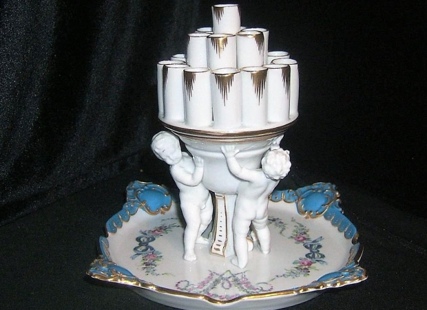 Sigarettenhouder kitsch antiek go with the vlo