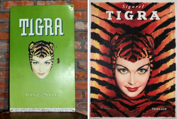 Tigra sigaretten vintage go with the vlo
