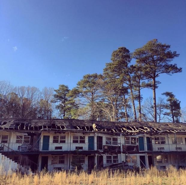 Verlaten gebouwen go with the vlo 5