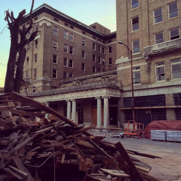 Verlaten gebouwen go with the vlo
