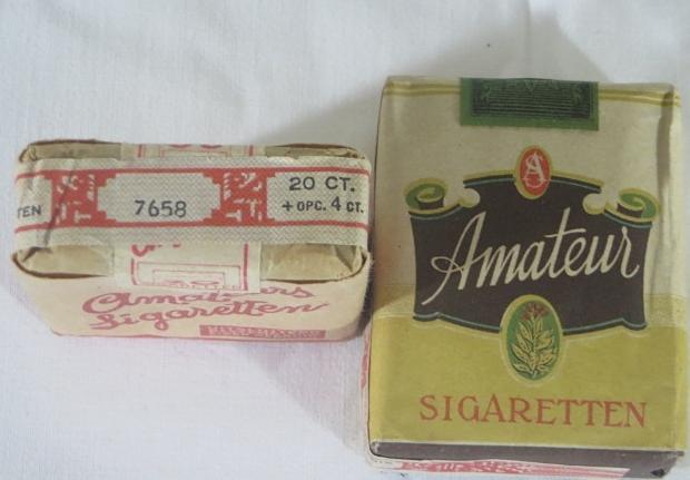 Vintage Amateur sigaretten oorlog go with the vlo