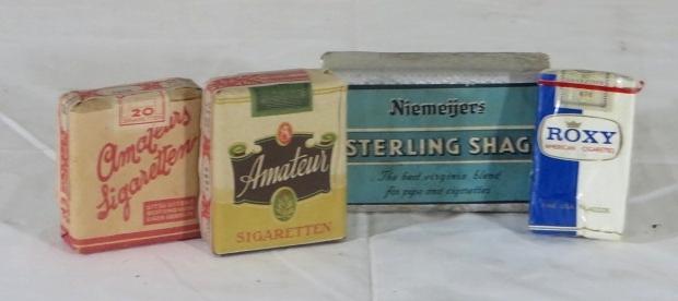 Vintage sigaretten kringloop Aktief go with the vlo