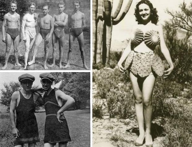 Zwemkleding vintage go with the vlo