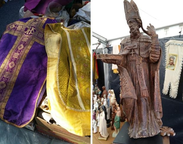 Antiekmarkt Temploux religie go with the vlo