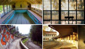 Olympische dorpen ruines go with the vlo 3