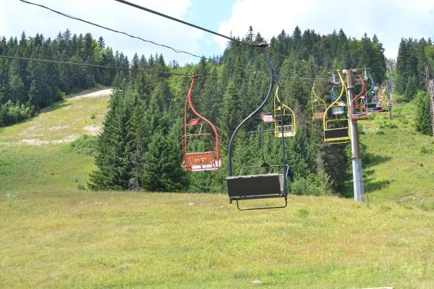 Olympische Spelen Sarajevo skilift go with the vlo