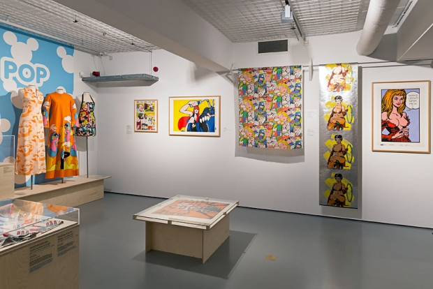 Pop Art tentoonstelling museum go with the vlo