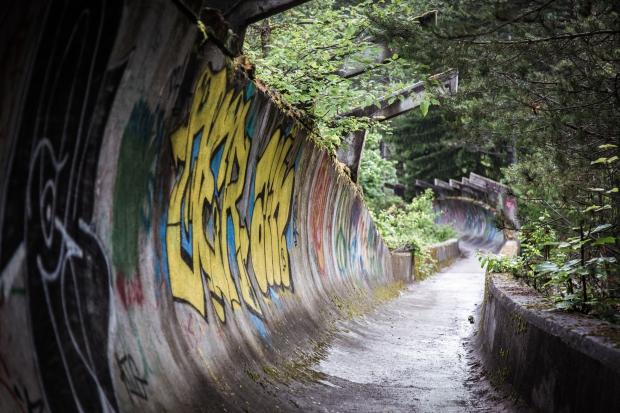 Sarajevo bobsleebaan Olympische spelen go with the vlo