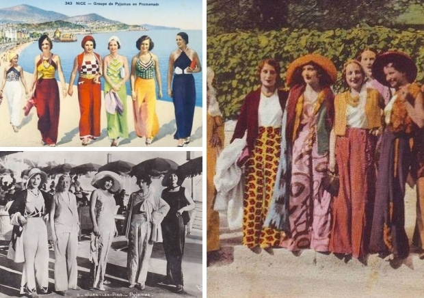 Strandpyjama glamour Zuid-Frankrijk go with the vlo