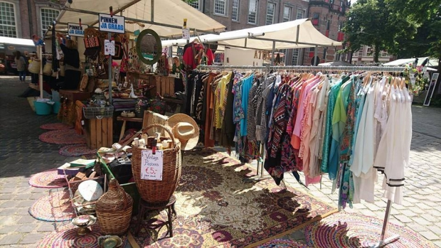 Summer of Love Market Den Haag go with the vlo