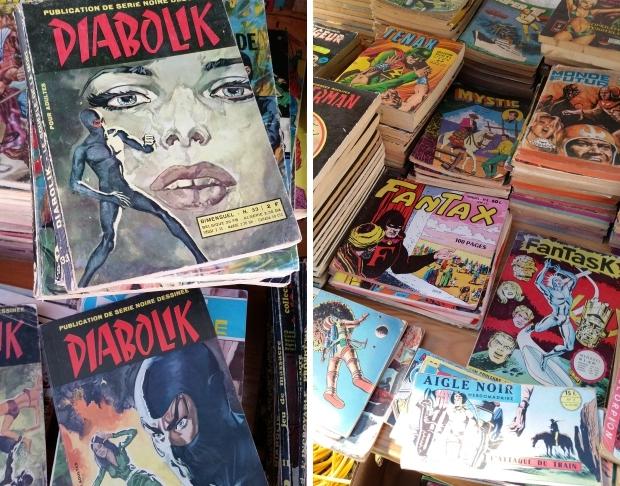 Temploux Diabolik vintage strips go with the vlo 2