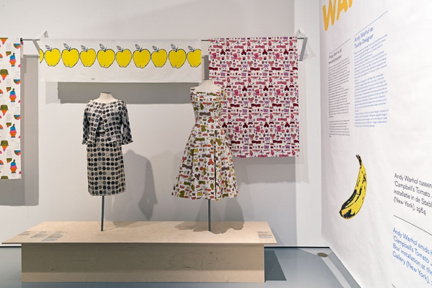 Textielmuseum pop art jurk go with the vlo