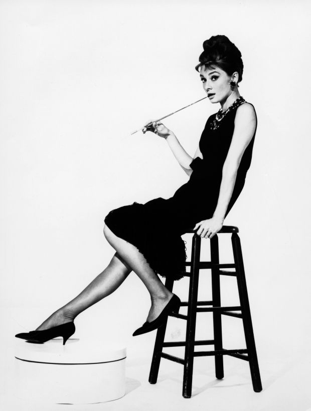 Audrey Hepburn Breakfast at Tiffany's go with the vlo