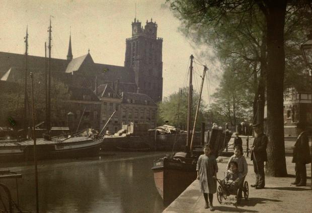 Dordrecht Grote Kerk 1916 go with the vlo