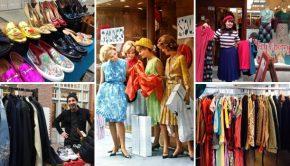 Geluk zit in een klein kledingmarktje
