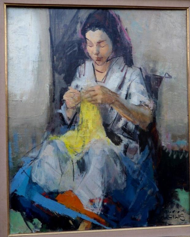 schilderij-breien-vrouw-go-with-the-vlo