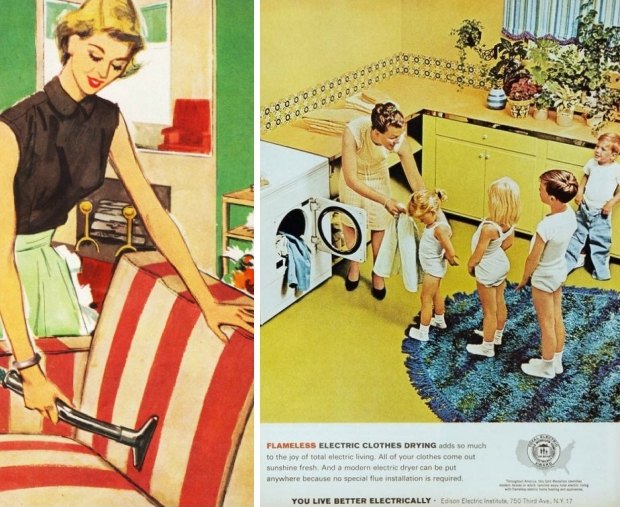huisvrouw-jaren-vijftig-stofzuigen-kinderen-go-with-the-vlo