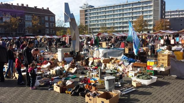 Visserijplein Rotterdam rommelmarkt verbod go with the vlo