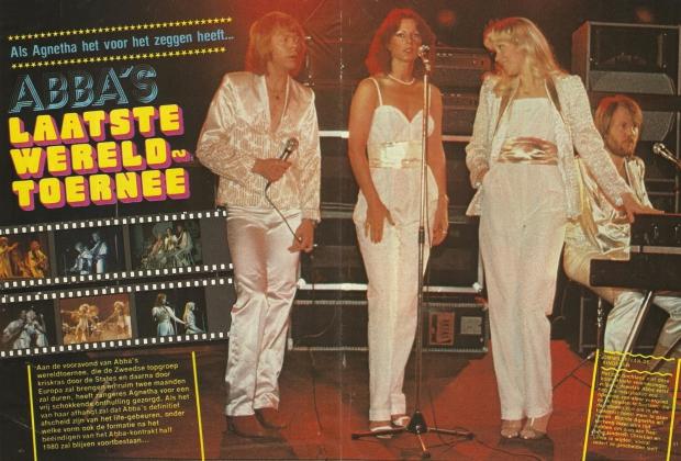 ABBA Agnetha touren reunie go with the vlo