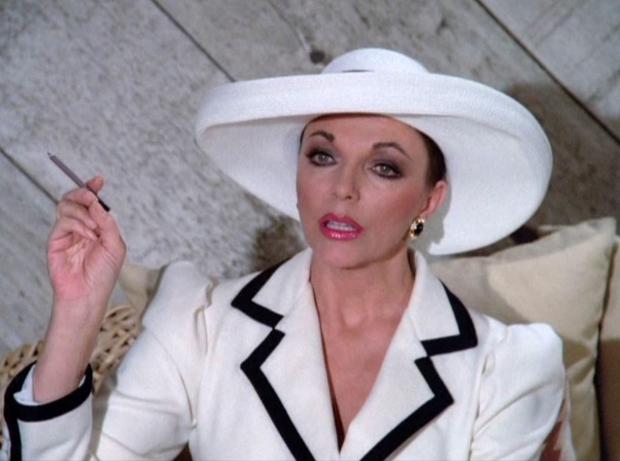 Alexis Carrington Colby Joan Collins Dynasty go with the vlo