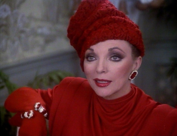 Alexis Carrington Colby rode outfit Dynasty go with the vlo