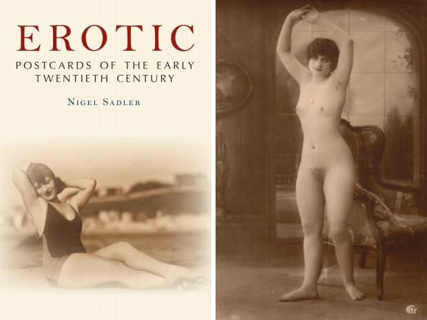 Erotic postcards of the early twentieth century go with the vlo