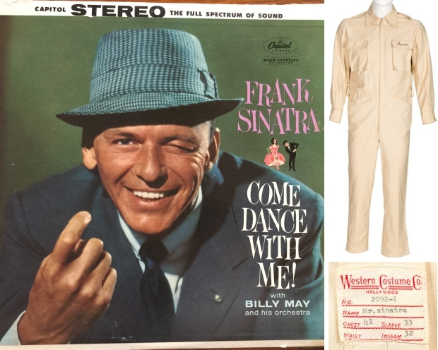 Frank Sinatra veiling pak kleding go with the vlo