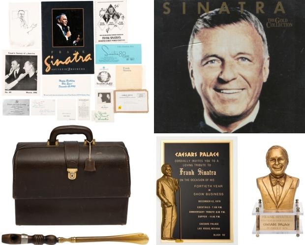 Frank Sinatra veiling spullen go with the vlo