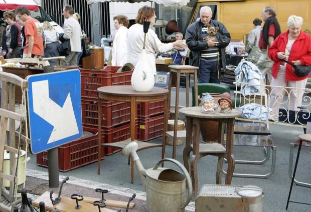 Grande Rederie Amiens vlooienmarkt brocante go with the vlo