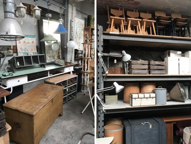 De Fabrikeur vintage meubels Tilburg go with the vlo